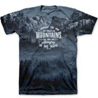 Pánske tričko - Ten, ktorý tvorí vrchy (TP067)