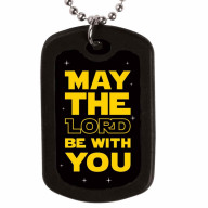 May The Lord Dog Tag - guľôčkový náhrdelník (NH135)