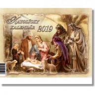 Katolícky kalendár 2019 (stolový) / ZAEX
