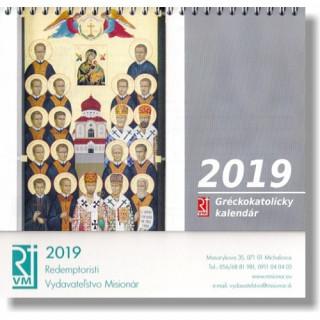 Gréckokatolícky kalendár 2019 (stolový)