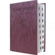 Sväté písmo - Jeruzalemská Biblia (stredný formát), hnedá obálka
