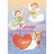 Kalendár s modlitbami pre deti 2019 (nástenný) / ZAEX