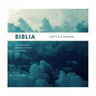 CD - Biblia - Nová zmluva, Listy a zjavenie (mp3)