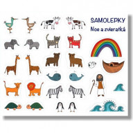 Samolepky - Noe a zvieratká