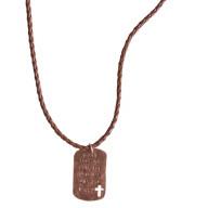 Nebudem sa báť zlého - kresťanský náhrdelník (NH139)