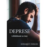 Deprese - vzhlédnout ze tmy (obálka muž)