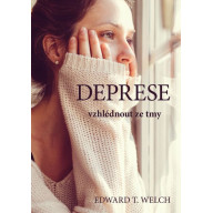 Deprese - vzhlédnout ze tmy (obálka žena)
