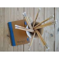 Zápisník s perom: Neboj sa... - modrý