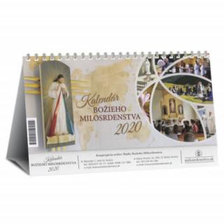 Kalendár 2020 (stolový) - Božieho milosrdenstva – týždňový
