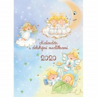 Kalendár s detskými modlitbami 2020 (nástenný) / ZAEX