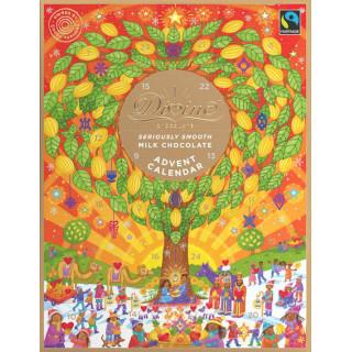 Adventní kalendář 2019 s čokoládou Divine