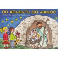 Od Adventu do Vianoc - Maľovanky, hlavolamy, doplňovačky