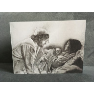 Vianočná pohľadnica - Emanuel: Boh s nami
