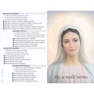 Skladačka - Ako sa modliť ruženec