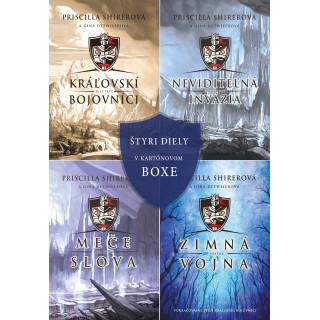 Kráľovskí bojovníci - séria + box