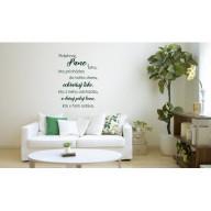 Interiérová nálepka - Požehnanie ľudí v dome (IN113)