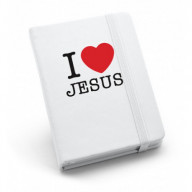 Zápisník A6 I love Jesus