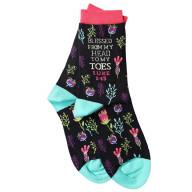 Ponožky - Požehnaný od hlavy po päty (SOX02)