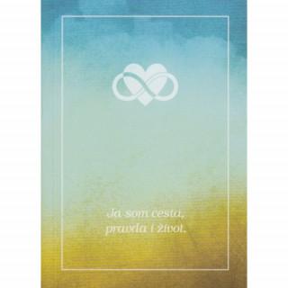 Evanjelium podľa Jána / brožúra, farebné pozadie