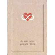 Evanjelium podľa Jána / brožúra, hnedá