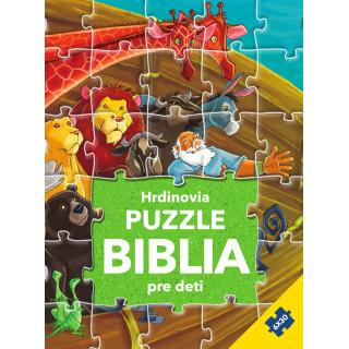 Hrdinovia - Puzzle Biblia pre deti