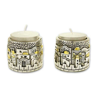 Svietnik. Šabat. Staré mesto Jeruzalem, 2 ks (IZ151)