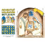 Adventný kalendár - betlehem