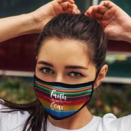 Rúško - Viera premáha strach