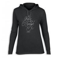 Dámske tričko s kapucňou - Jeho milosť (TD094)