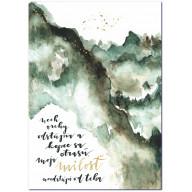 Nech vrchy odstúpia - Art print