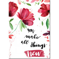 You make all things new - Art print