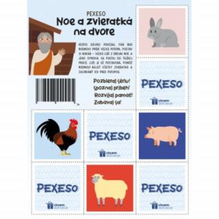 Pexeso - Noe a zvieratká na dvore