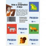 Pexeso - Noe a zvieratká z lesa