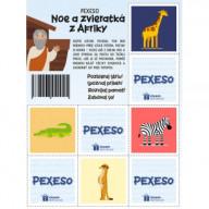 Pexeso - Noe a zvieratká z Afriky