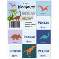 Pexeso - Dinosaury