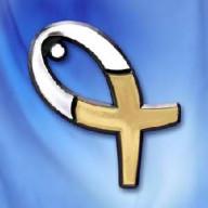 Pozri na kríž - 3D autoemblém (AE01)