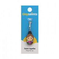 Svätá Agáta - kľúčenka