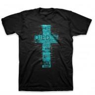 Pánske tričko - Zomrel, aby sme mohli žiť (TP061)