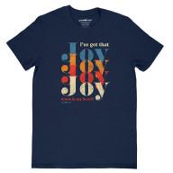 Dámske tričko - Radosť v srdci mám (TD096)