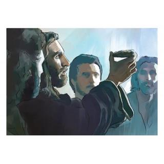 Veľkonočná pohľadnica - Chlieb z neba