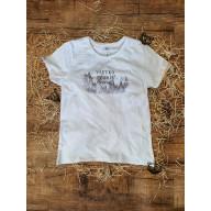Dámske tričko - Všetko tvoríš nové / biele