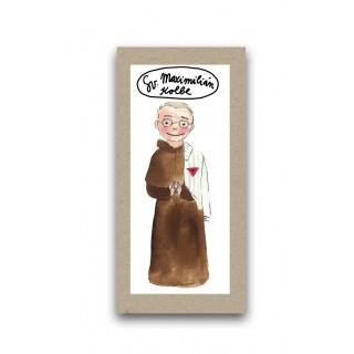 Záložka - Svätý Maximilián Kolbe
