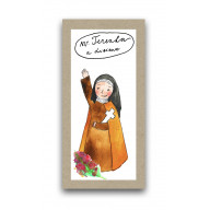 Záložka - Svätá Terezka z Lisieux