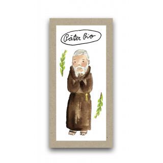 Záložka - Svätý Páter Pio