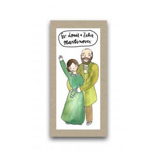 Záložka - Svätí Louis a Zélie Martinovci