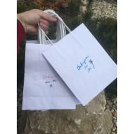 Darčeková taška - Nech ťa žehná Pán / ružová