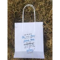 Darčeková taška - Nech ťa žehná Pán / modrá