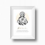 Ježiš (Vyznanie) - Art print