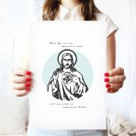 Ježiš - Art print