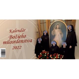 Kalendár Božieho milosrdenstva 2022 (stolový)